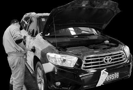 汽车喷漆差异大 修补车漆有玄机